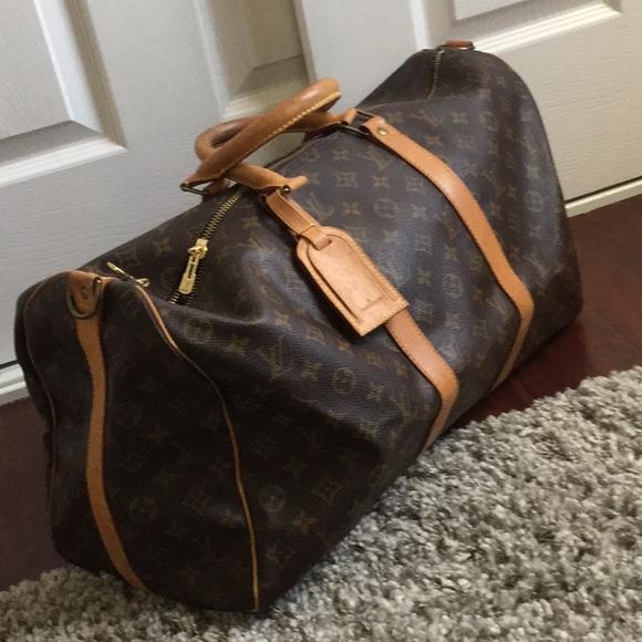 4c2aaac03661 Louis Vuitton Handbags - Authentic Louis Vuitton Keepall bandouliere 50